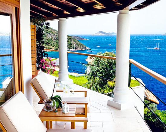 Романтичен хотел в Турция